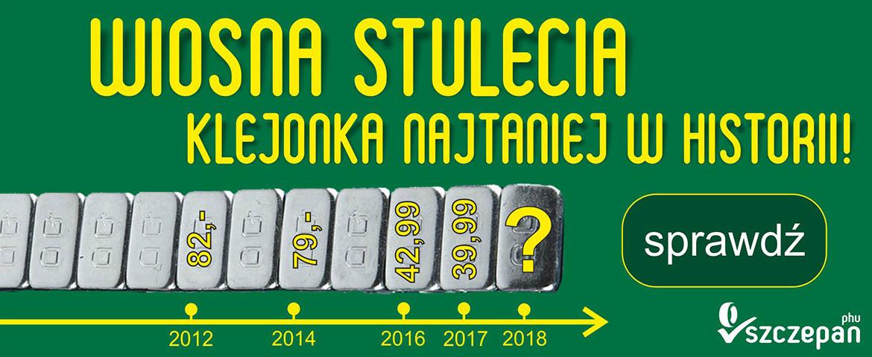 Najtańsze ciężarki klejone w Polsce